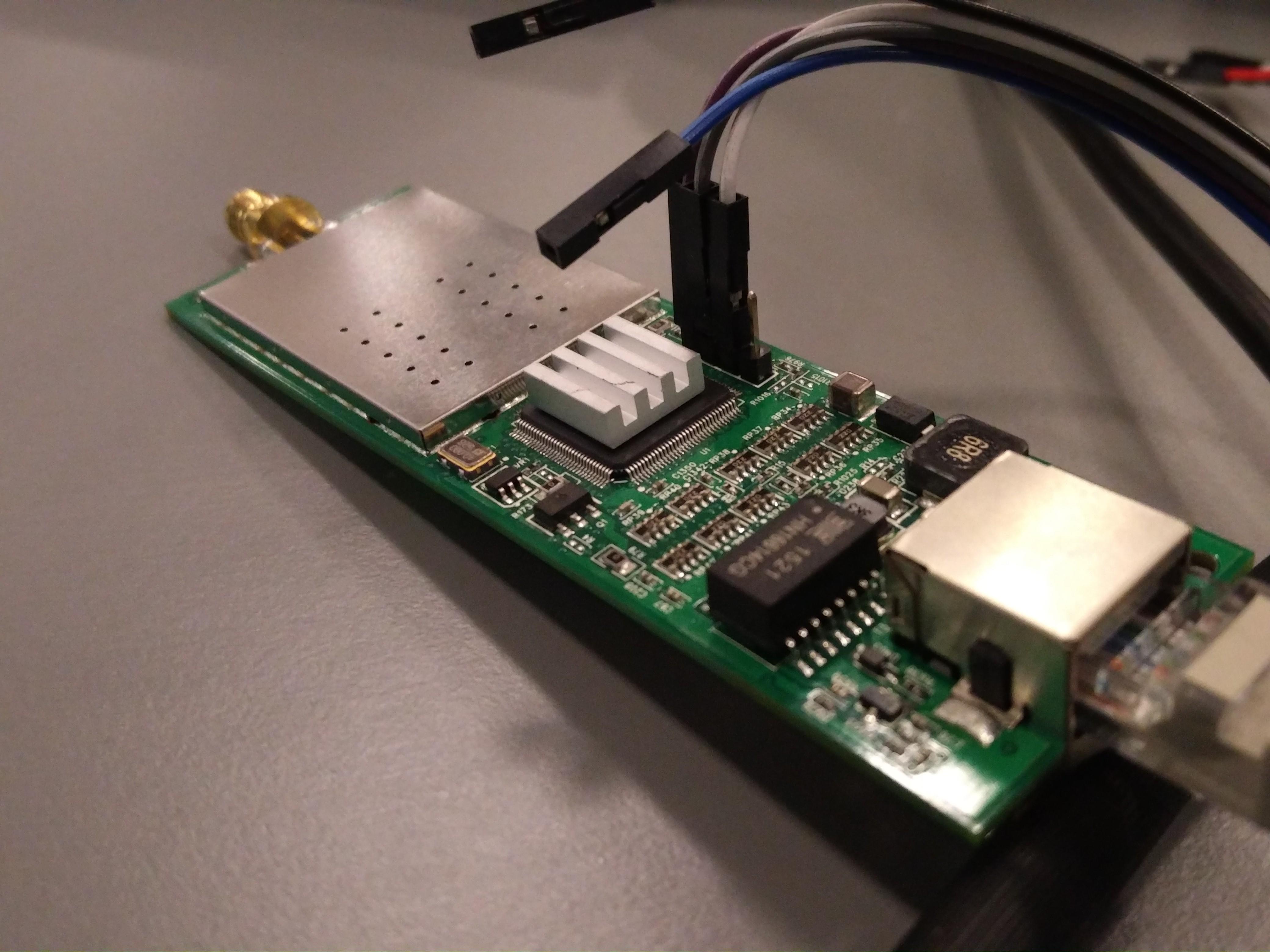So sieht eine PicoStation ohne Gehäuse aus